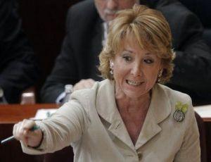 Esperanza Aguirre, PP de Madrid