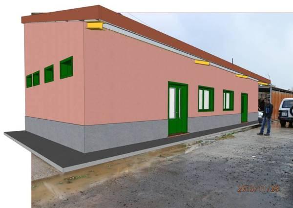 Futura aula educativa agrícola en la finca de La Cruz Chiquita