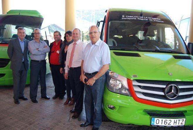 Nuevo vehiculo de Guaguagomera