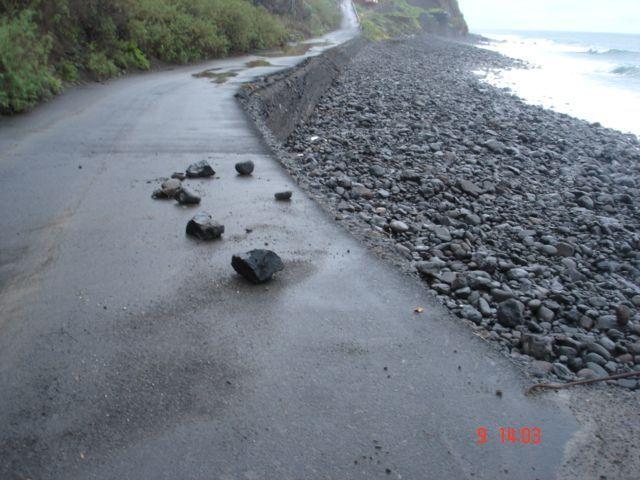 Carretera de la playa de Hermigua a Lepe, Agulo