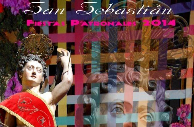Cartel Fiestas Patronales 2014 en San Sebastian de La Gomera