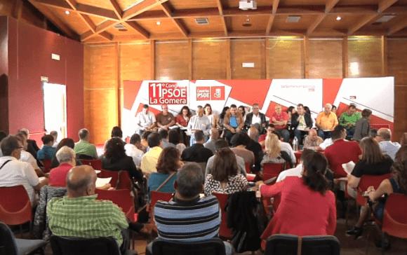 Congreso del PSOE de La Gomera