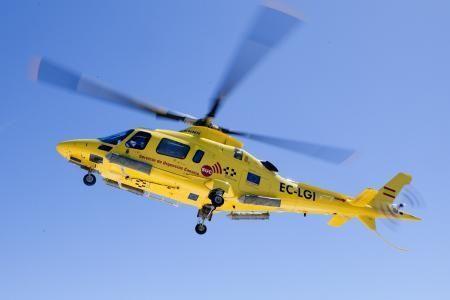 Helicoptero de emergencias SUC