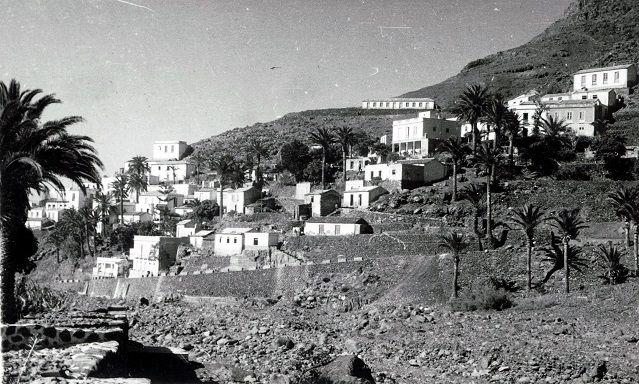 La Calera, Valle Gran Rey, coronada por Juan Rejón, Década 1950