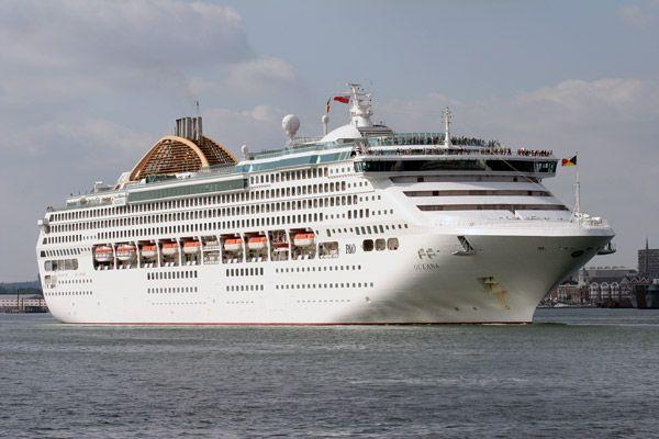El crucero Oceana P&O