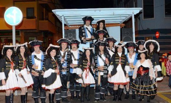 Un grupo participante en el Carnaval de San Sebastián