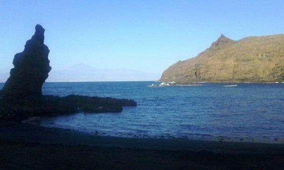 Playa de La Caleta, Hermigua