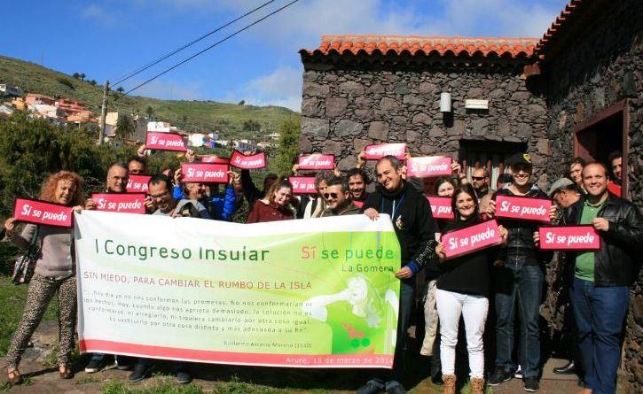 """Sí se puede opina que algunos proyectos presentados por instituciones de La Gomera al FDCAN son """"obras pufas"""""""
