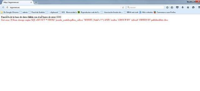 web cabildo de la gomera