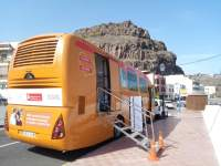 Las unidades móviles del ICHH visitarán La Gomera