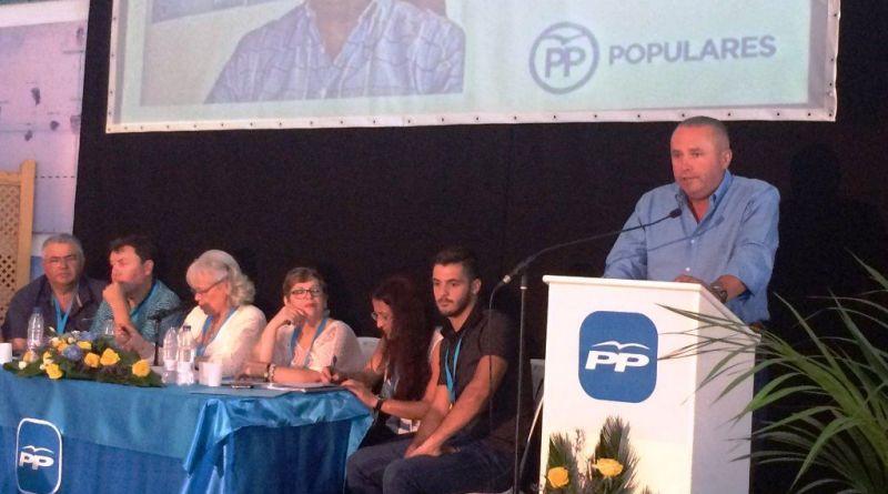Javier Trujillo repite como Presidente del PP de La Gomera con el 100% de los votos
