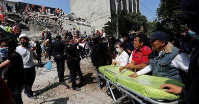 Se eleva a 217 la cantidad de muertos tras el terremoto en México