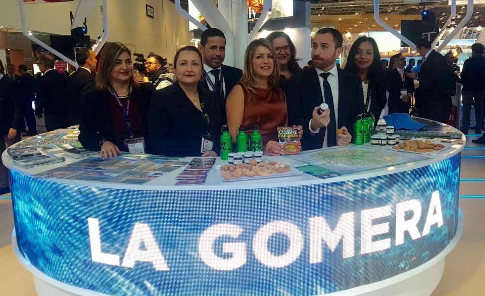 Resultado de imagen de Las riquezas naturales de La Gomera seducen al mercado británico en la World Travel Market