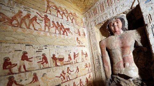 Hallan en Egipto la tumba de 4.400 años: ¿Es tan importante como la de Tutankamón?