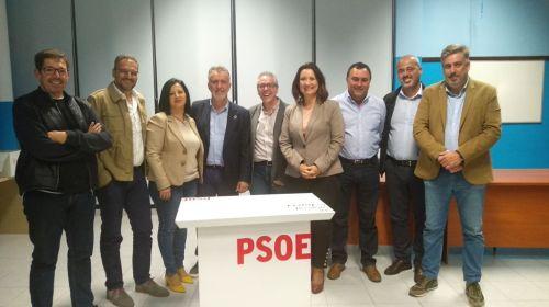 El PSOE de La Gomera anuncia sus cabeza de lista para las próximas elecciones