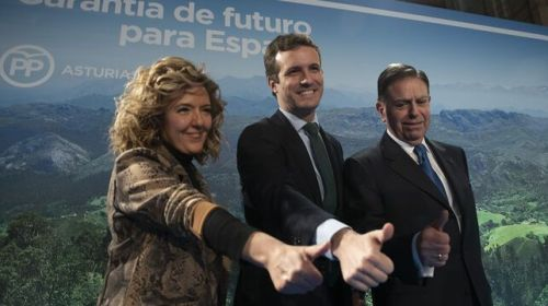 La candidata de Casado para Asturias incluyó joyas, marisco, cachopo o quitaesmalte como gastos de la empresa pública que presidía