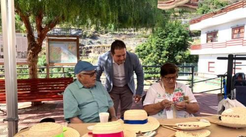 La artesanía gomera muestra sus valores en el 'I Encuentro Itinerante' del sector