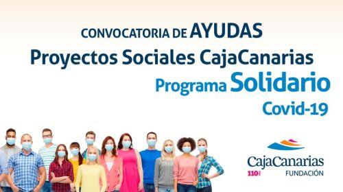 La Fundación CajaCanarias lanza su Programa Solidario-Covid 19