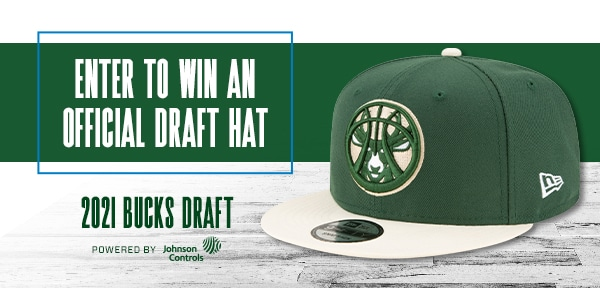 Bucks Draft Hat Sweepstakes