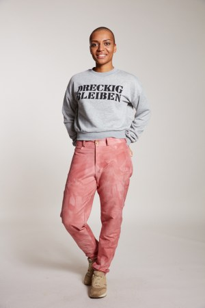 Dreckig bleiben Sweater kurz Damen