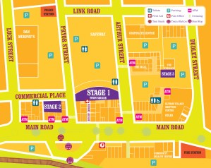 Eltham Jazz, Food & Wine Festival Site Map