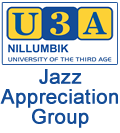 U3A Jazz Appreciation Society
