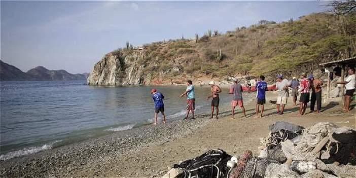 Resultado de imagen para pescadores de taganga
