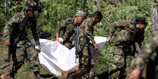 Resultado de imagen para soldado asesinado farc