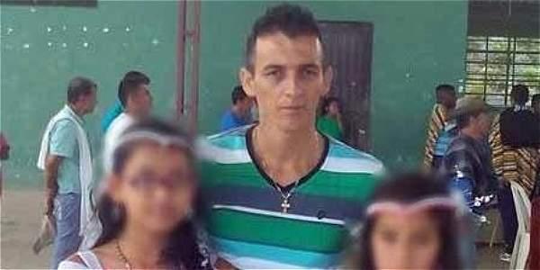 Faiver Cerón Gómez, presidente de la Junta de Acción Comunal de Esmeraldas, en Cauca, víctima de homicidio.