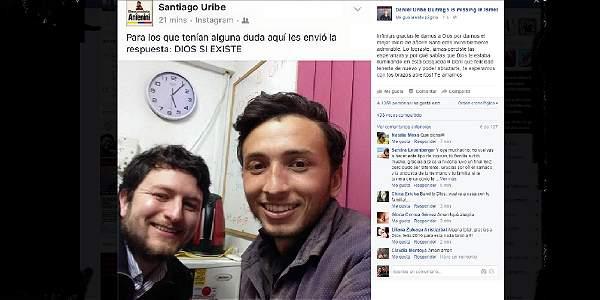 Esa es la foto de los dos hermanos Buitrago tras dos meses de búsqueda