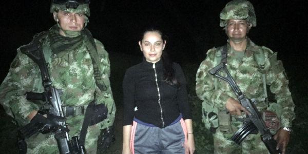 Melisa Trillos fue rescatada en Norte de Santander.