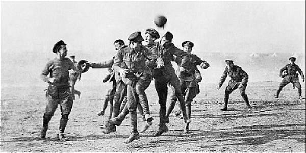 El partido la 'Tregua de Navidad' lo ganaron los alemanes 3-2.