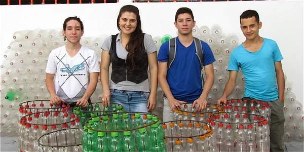Ana Milena González, 23 años, ganadora en la categoría Liderazgo Social del concurso Mujeres Jóvenes Talento.