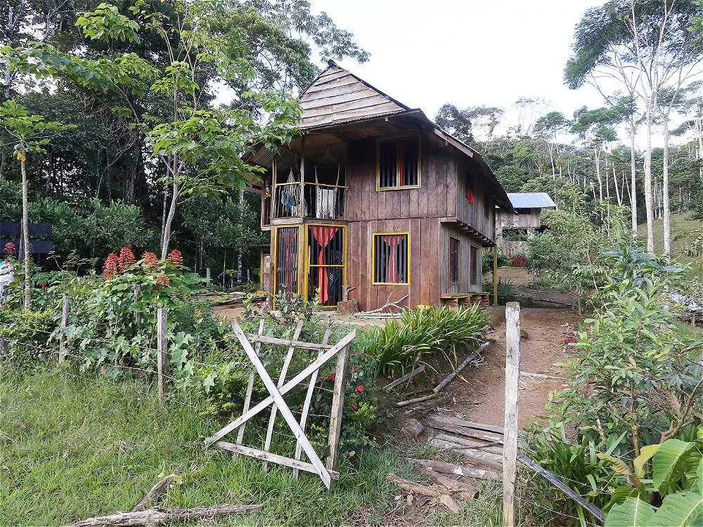 La comunidad se está organizando para ofrecer al turista espacios naturales de hospedaje. Muchos son alejados de las poblaciones, casi metidos en la selva.