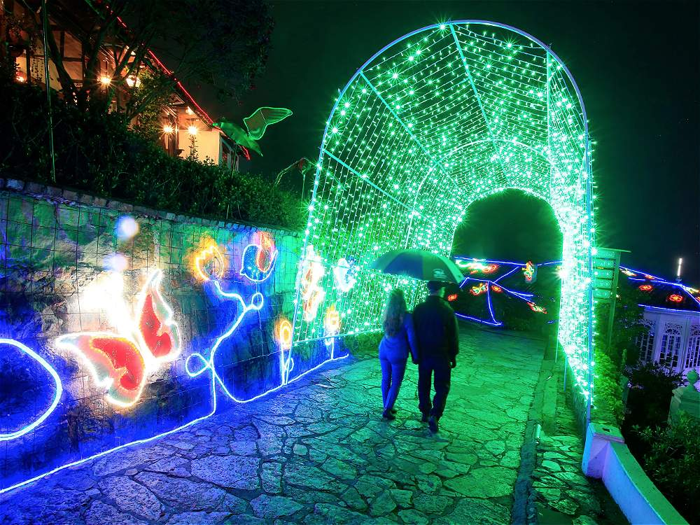 Fotos Alumbrado navideo de Bogot en Monserrate