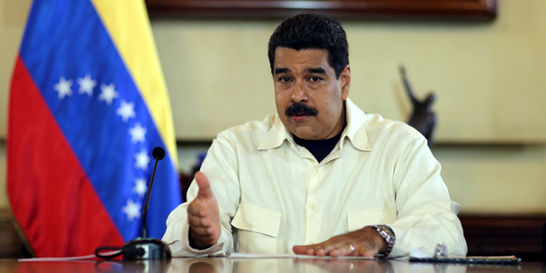 Nicolás Maduro y John Kerry se reunieron este lunes en Cartagena