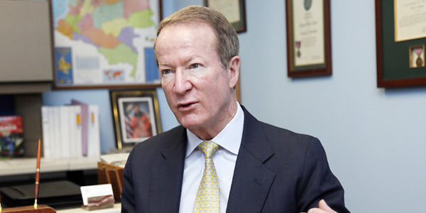 William Brownfield, subsecretario de Estado para Asuntos Antinarcóticos.