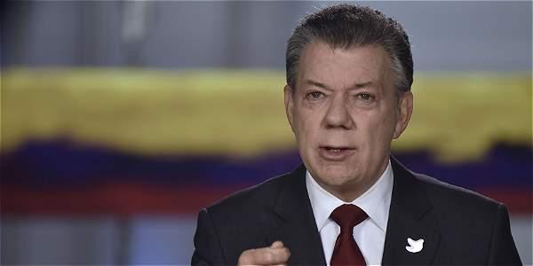 El presidente Juan Manuel Santos se dirigió en alocución televisada este domingo, previo a la entrada en vigor del nuevo Código de Policía.