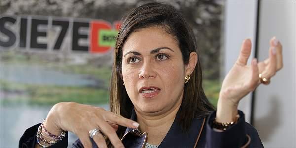 Martha Ordóñez, consejera para la Equidad de la Mujer.
