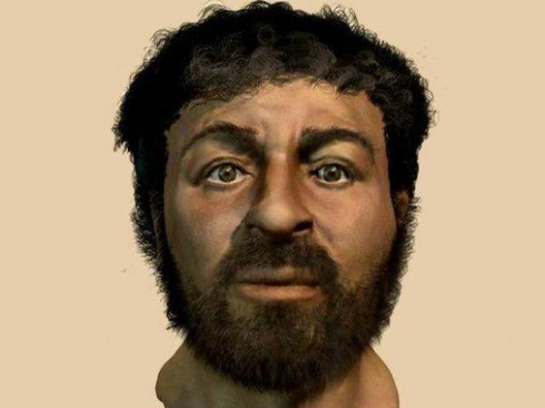 BBC Mundo: Ilustración hecha por la BBC del probable rostro de Jesús.