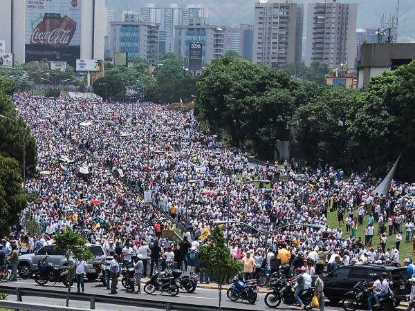 Protesta Venezuela