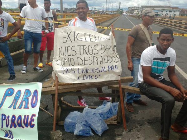 Protestas en Buenaventura