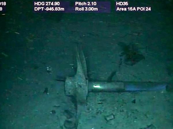 Hélice del submarino ARA