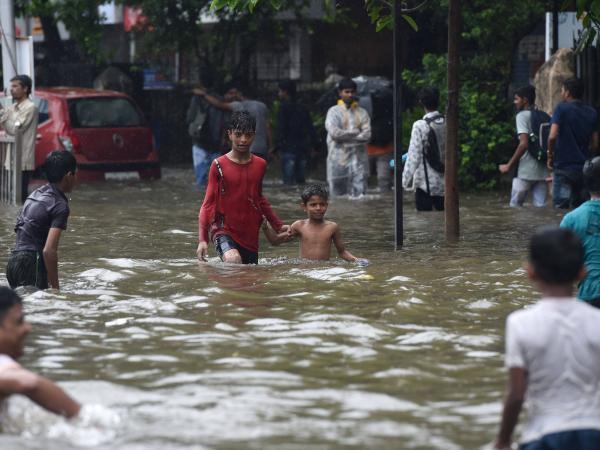 Lluvias torrenciales en India