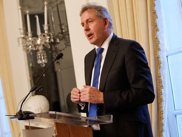 Kim Darroch, embajador británico en Estados Unidos