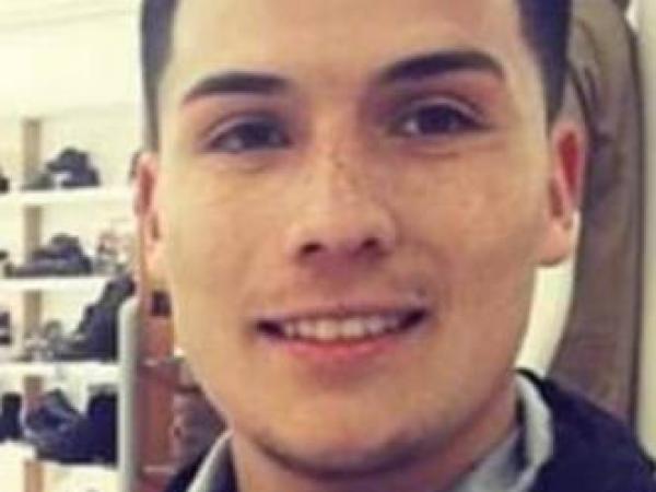 Sebastián Quintero, asesinado en la noche de la fiesta en Samaniego.