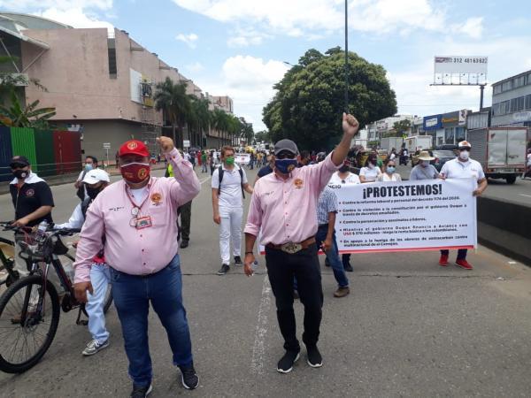 Protestas en Villavicencio