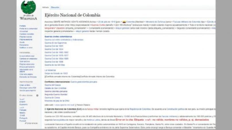 Anonymous Wikipedia