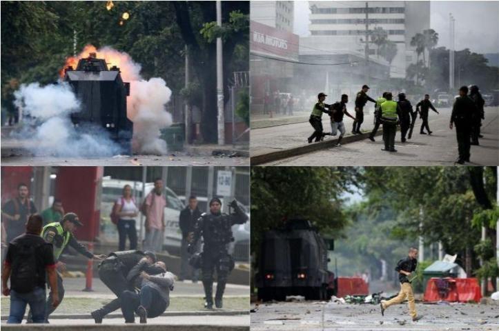 Resultado de imagen para disturbios universidades colombia