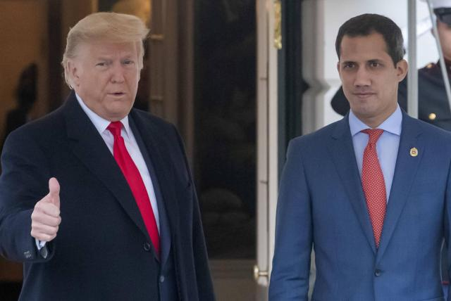 Image result for trump guaidó